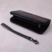 Женский кошелек, черный П3815