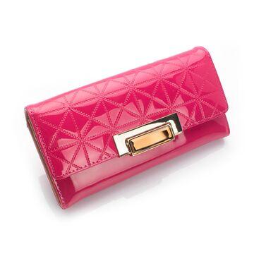 Женский кошелек, розовый П0254