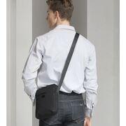 """Мужская сумка на плечо """"TINYAT"""", серая П3827"""