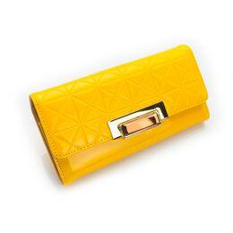 Женский кошелек, желтый 0256