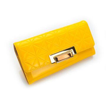 Женский кошелек, желтый П0256