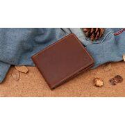 Мужской кошелек KAVIS, коричневый П3842
