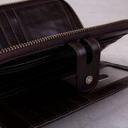 Мужской кошелек KAVIS, коричневый П3843