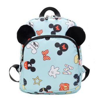 "Детский рюкзак ""Микки Маус"", голубой П3855"