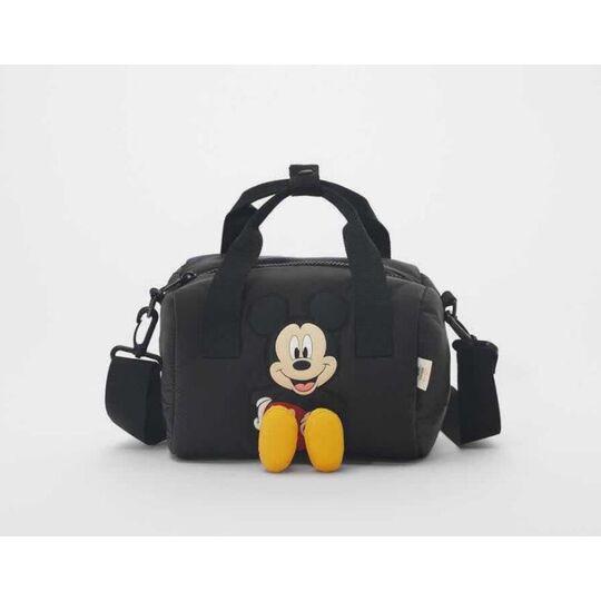 """Детская сумка """"Микки Маус"""", черная П3856"""