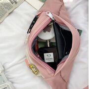 Женская бананка, сумка на пояс, зеленая П3862