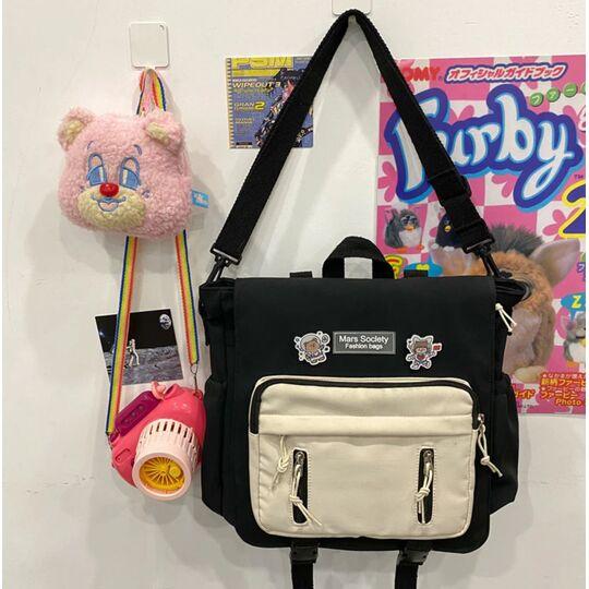 Женский рюкзак DCIMOR, черный П3866