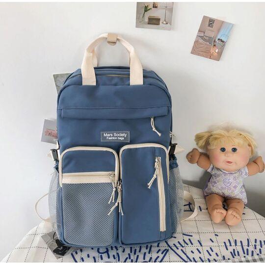 Женский рюкзак DCIMOR, синий П3871