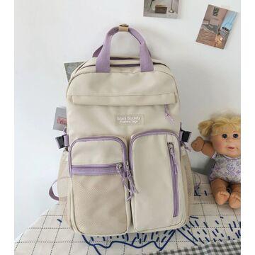 Женский рюкзак DCIMOR, белый П3873