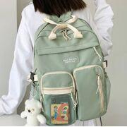 Женский рюкзак DCIMOR, зеленый П3874
