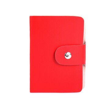Визитница красная П0260