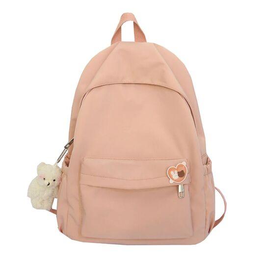 Женский рюкзак, розовый П3881