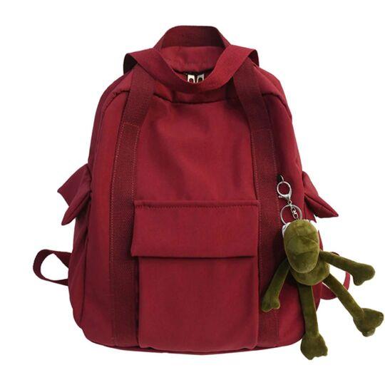 Женский рюкзак, красный П3886