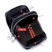 Женский кошелек, черный П3893