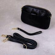 Женская сумка клатч, черная П3895