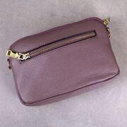 Женская сумка клатч, розовая П3897