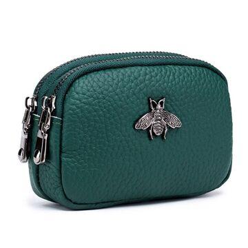 Женский кошелек, зеленый П3900