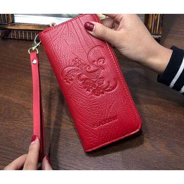 Женские кошельки - Женский кошелек, красный П0263