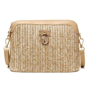 Женская соломенная сумка, П3931