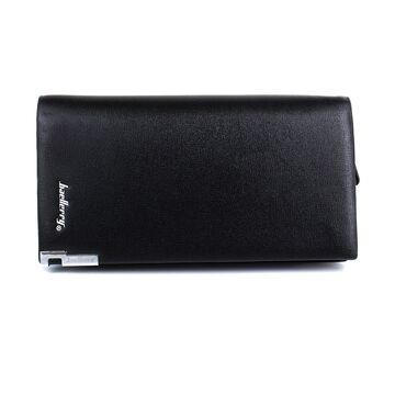 Мужской кошелек, барсетка, черный П0266