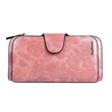 Женский кошелек, розовый П3943