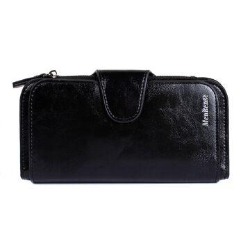 Женский кошелек, черный П3946