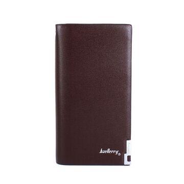 Мужской кошелек Baellery, барсетка, коричневый П0267