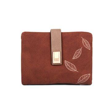Женский кошелек, коричневый П3955