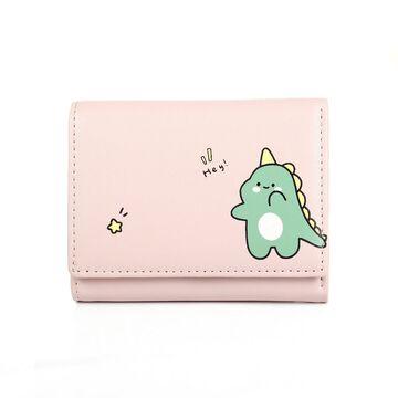 Женский кошелек, розовый П3967