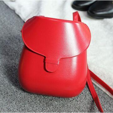 Женская сумка, красная П3995