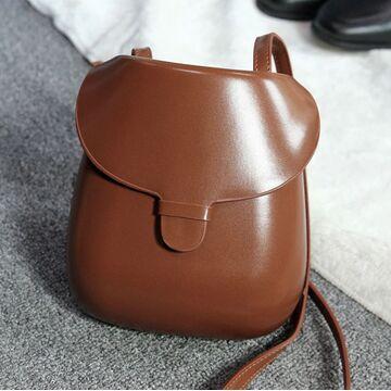 Женская сумка, коричневая П3998