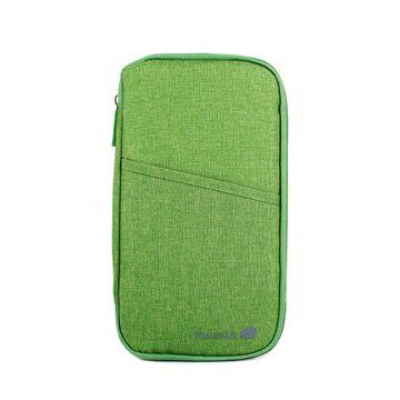 Кошелек органайзер для путешествий, зеленый П4006