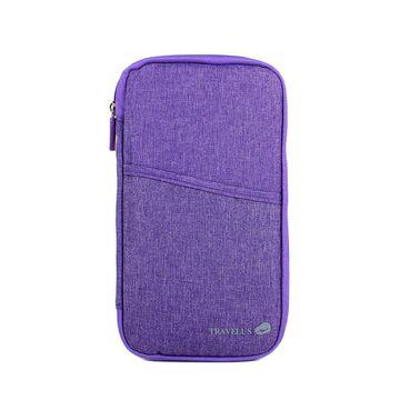 Кошелек органайзер для путешествий, фиолетовый П4008