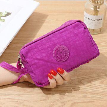 Женский кошелек, розовый П4029