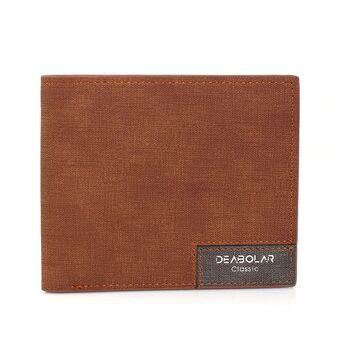 Мужской кошелек, коричневый 0275
