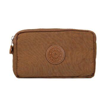 Женский кошелек, коричневый П4030