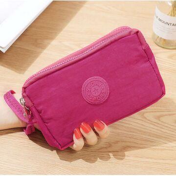 Женский кошелек, розовый П4033