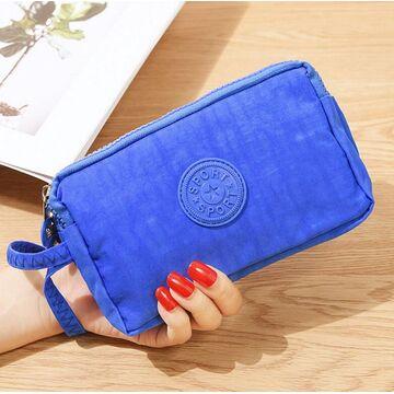 Женский кошелек, синий П4035
