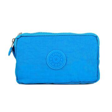 Женский кошелек, голубой П4037