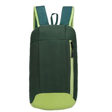 Нейлоновый рюкзак, зеленый П4041
