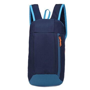 Нейлоновый рюкзак, синий П4043