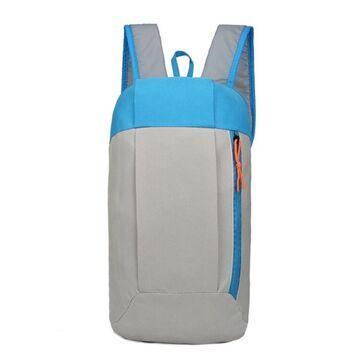 Нейлоновый рюкзак, серый П4045