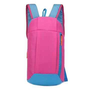 Нейлоновый рюкзак, розовый П4046