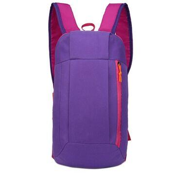 Нейлоновый рюкзак, фиолетовый П4047