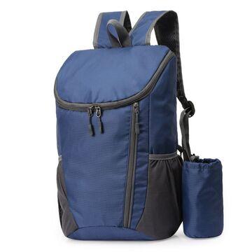 Складной рюкзак, синий П4050