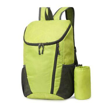 Складной рюкзак, зеленый П4051