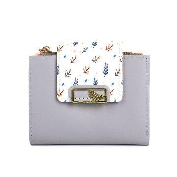 Женский кошелек, серый П4060