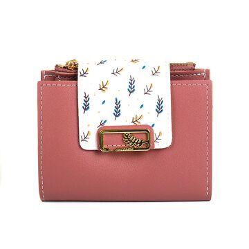 Женский кошелек, розовый П4063