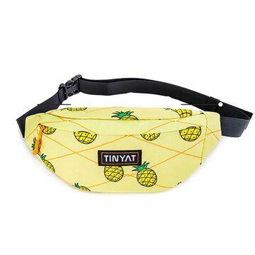 """Сумка поясная, бананка """"TINYAT"""", П4078"""