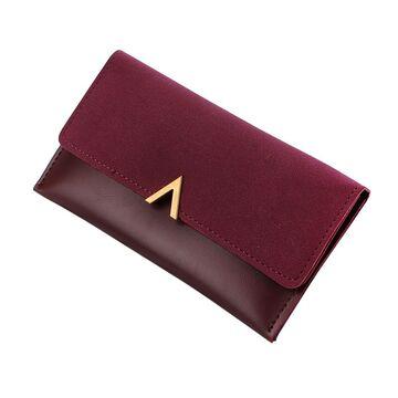 Женский кошелек, красный П0280